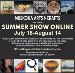 2021 Summer Show E-Flyer - Muskoka Arts & Crafts-a